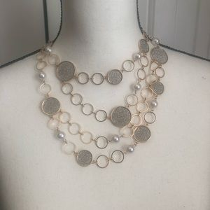NY&Co Layer Statement Necklace